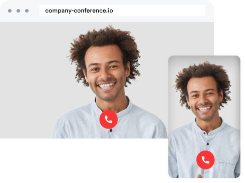 cross platform solution desktop and mobile telephone conference call