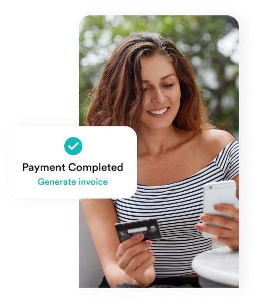 get payment done after WORKING WITH video conferencing app