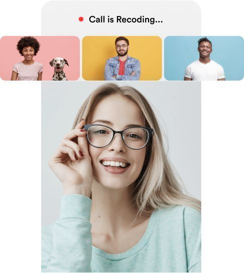 record any web conference calling on Android / iPhone by video conferencing app